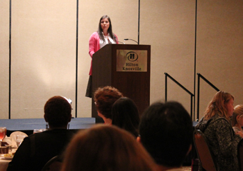 """Paisleigh Jo Kelley presents """"A Student Perspective"""", Scholarship Donor Dinner"""