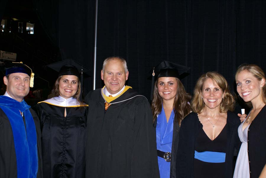 Fulmer with family