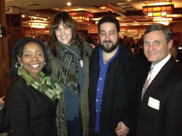 Astrachans and Wirths at NYC reception