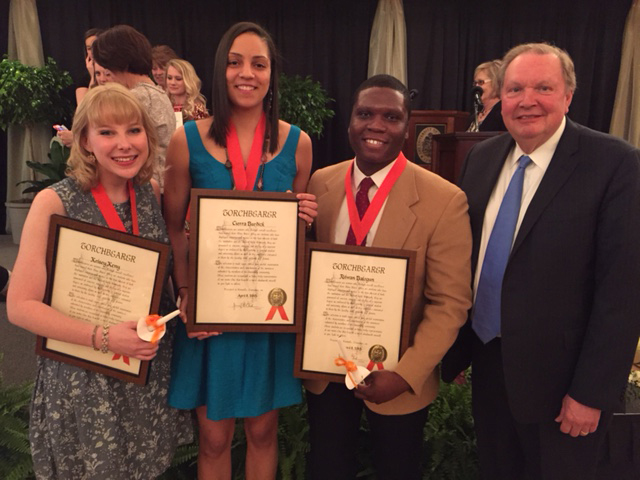 CCI Chancellor's Honors Recipients