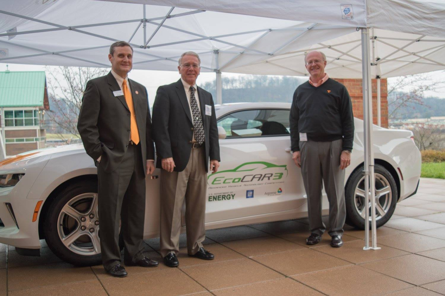 Deans with EcoCar3